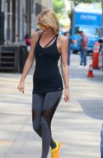 TAYLOR SWIFT at a Gym in New York 08/26/2016