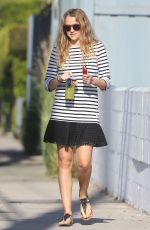 TERESA PALMER Out and About in Los Angeles 08/15/2016