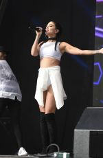 TULISA CONTOSTAVLOS Performs at Betley Concerts in Cheshire 08/13/2016