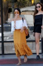 VANESSA HUDGENS Leaves a Nail Salon in Beverly Hills 08/01/2016