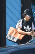 VANESSA HUDGENS Leaves a Pilates Class in Los Angeles 08/02/2016