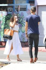VANESSA HUDGENS Out and About in Venice Beach 08/01/2016
