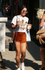 VANESSA HUDGENS Out for Coffee in Los Angeles 08/24/2016