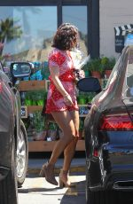 VANESSA HUDGENS Out Shopping in Los Angeles 08/16/2016