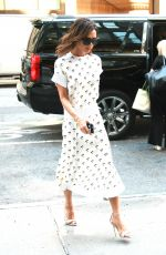 VICTORIA BECKHAM Leaves Her Hotel in New York 08/05/2016