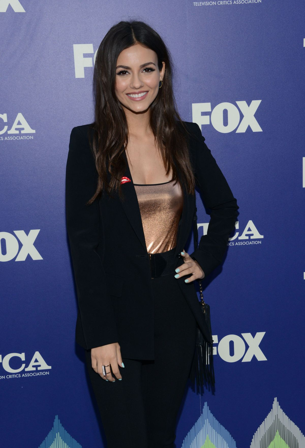 VICTORIA JUSTICE at Fox Summer TCA All-star Party in West Hollywood 08/08/2016