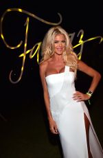 VICTORIA SILVSTEDT at Fawaz Gruosi's Birthday Party in Sardinia 08/09/2016