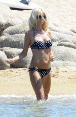 VICTORIA SILVSTEDT in Bikini on a Beach in Sardinia 08/08/2016