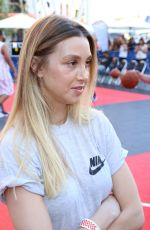WHITNEY PORT at 8th Annual Nike Basketball 3on3 Tournament in Los Angeles 08/05/2016