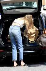 WHITNEY PORT Out and About in Los Angeles 08/26/2016