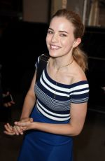 WILLA FITZGERALD Out and About in New York 08/15/2016