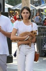 WILLA HOLLAND Out and About in Los Angeles 08/25/2016