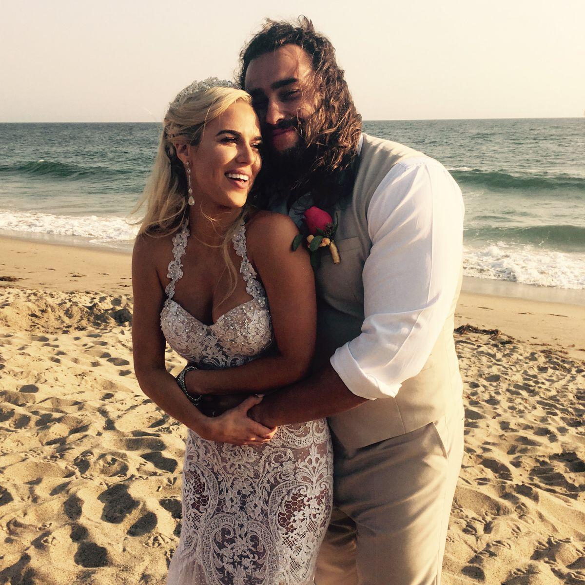 WWE - Lana and Rusev Get Married