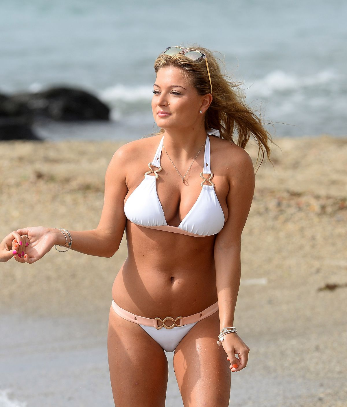 ZARA HOLLAND in Bikini at a Beach in Marbella 08/26/2016