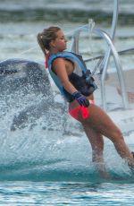 ZARA HOLLAND in Bikini at a Boat in Barbados 08/07/2016