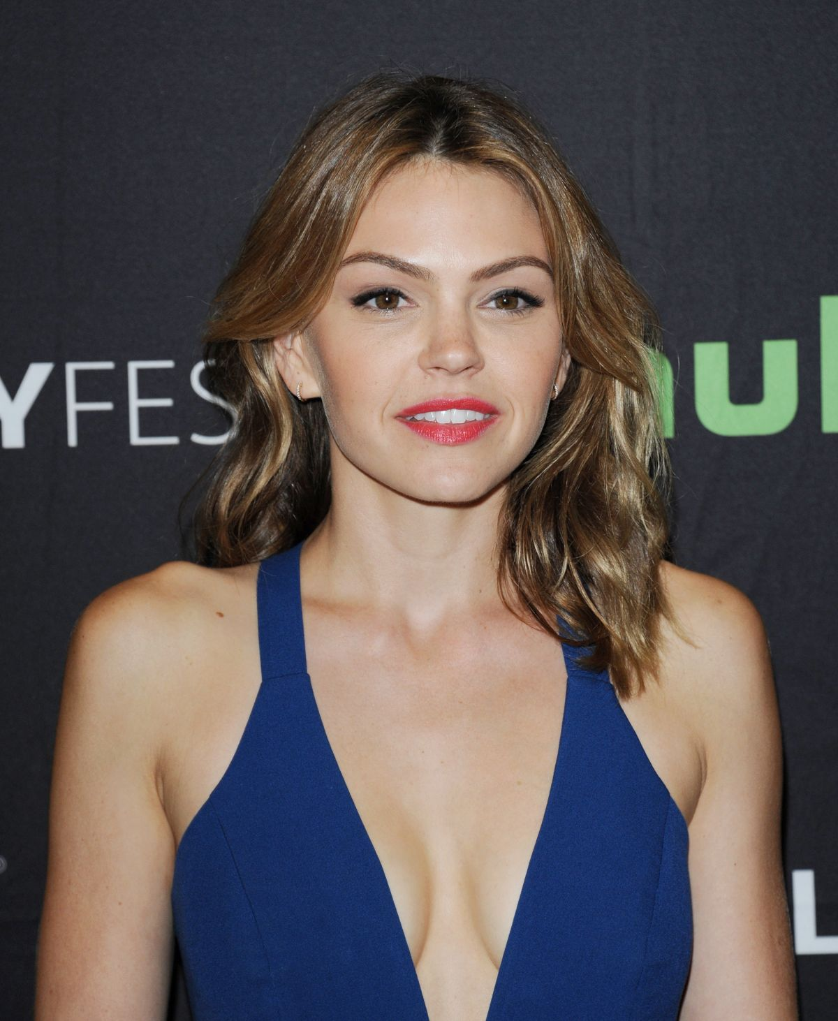AIMEE TEEGARDEN at PaleyFest 2016 Fall TV Preview for ABC in Beverly Hills 09/08/2016