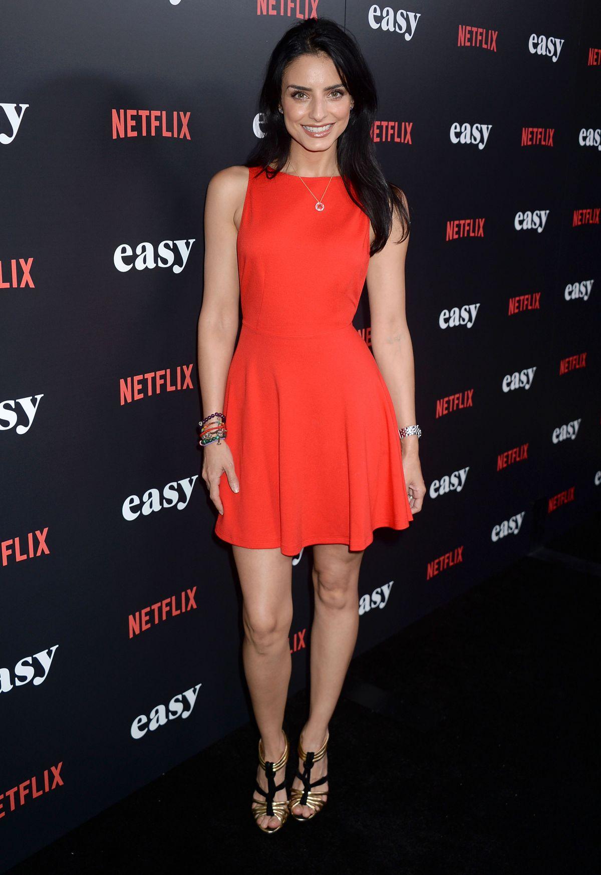 AISLINN DERBEZ at 'Easy' Premiere in West Hollywood 09/14 ...