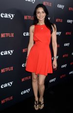AISLINN DERBEZ at 'Easy' Premiere in West Hollywood 09/14/2016