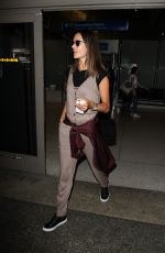 ALESSANDRA AMBROSIO at LAX Airport in Los Angeles 09/23/2016