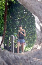 ALESSANDRA AMBROSIO Out in Santa Monica 08/31/2016