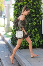 alessandra ambrosio - out in west hollywood - 9/1/16 [mq]