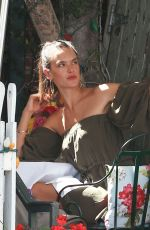 ALESSANDRA MABROSIO Out for Lunch in West Hollywood 09/01/2016
