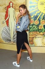 ALEXIS REN at Alice + Olivia by Stacey Bendet Fashion Show at New York Fashion Week 09/13/2016