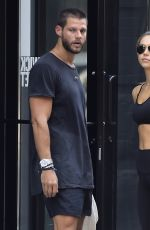 ALEXIS REN in Tights Out in New York 09/13/2016