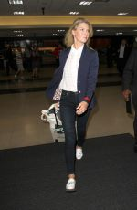 ALI LARTER at LAX Airport in Los Angeles 09/07/2016