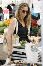 ALICIA SILVERSTONE Shopping at Farmer