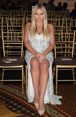 ALLI SIMPSON at Sherri Hill Fashion Show at New York Fashion Week 09/12/2016
