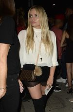 ALLI SIMPSON Night Out in West Hollywood 09/02/2016