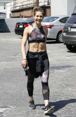 ALLISON HOLKER Arrives at Dancing With the Stars Practice in Los Angeles 09/02/2016