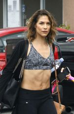 ALLISON HOLKER Arrives at Dancing With the Stars Practice in Los Angeles 09/04/2016