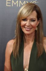 ALLISON JANNEY at Creative Arts Emmy Awards in Los Angeles 09/10/2016