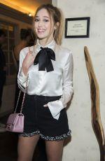 ALYCIA DEBNAM-CAREY at Chanel Fine Jewelry Dinner at Bergdorf Goodman in New York 09/06/2016
