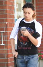 ALYSON ALY MICHALKA Out and About un Beverly Hills 09/06/2016