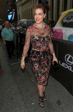 ALYSSA MILANO at Marchesa Fashion Show in New York 09/14/2016