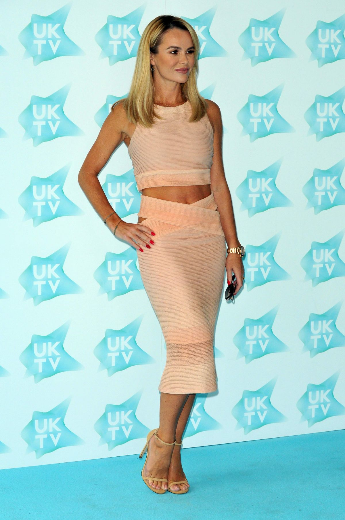 Amanda Holden At Uktv Live New Season Launch In London 09
