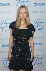 AMANDA SEYFRIED at 2016 Heaven on Earth Gala in Hollywood 09/24/2016