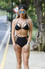 AMBER DOWDING and GEORGIA KOUSOULOU Out in Marbella 09/26/2016