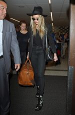 AMBER HEARD at LAX Airport in Los Angeles 08/31/2016
