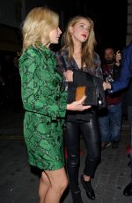 AMBER HEARD Night Out in London 09/19/2016