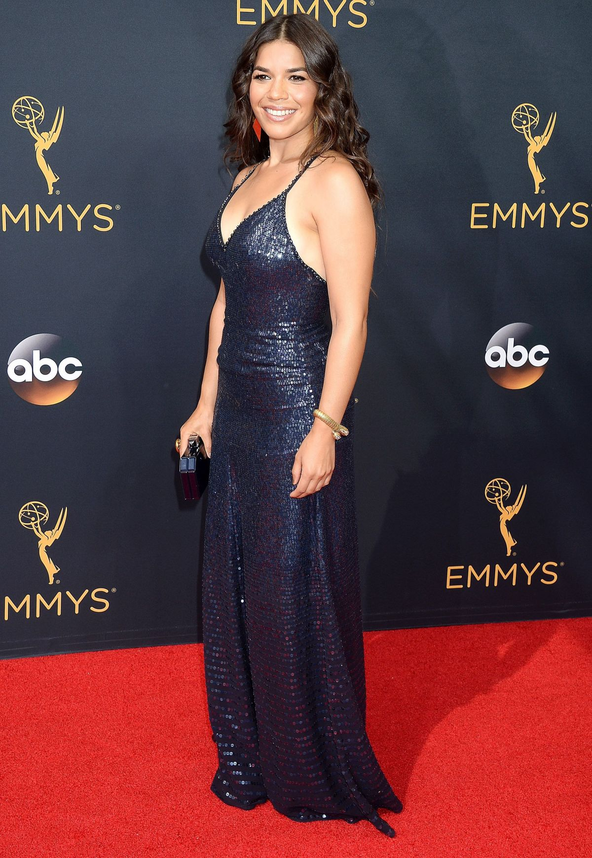 AMERICA FERRERA at 68th Annual Primetime Emmy Awards in Los Angeles 09/18/2016