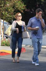 AMY ADAMS and Darren Le Gallo Out Shopping in Beverly Hills 09/08/2016