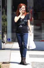 AMY YASBECK Out and About in Los Angeles 09/02/2016