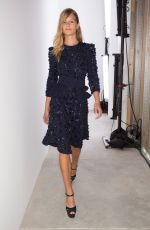 ANNA EWERS at Michael Kors Fashion Show at New York Fashion Week 09/14/2016