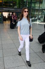 ANNA KENDRICK at Heathrow Airport in London 09/27/2016