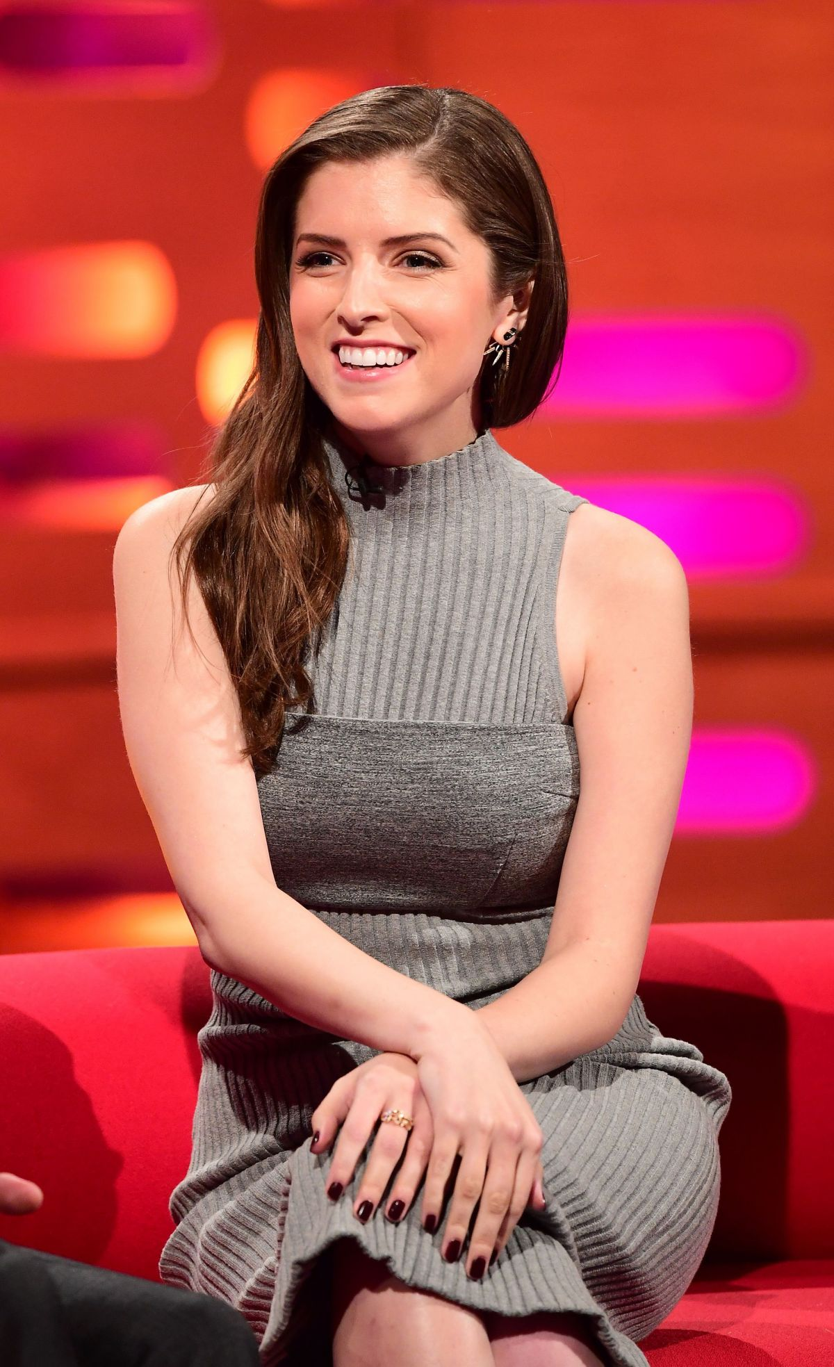 ANNA KENDRICK at The Graham Norton Show in London 09/29/2016