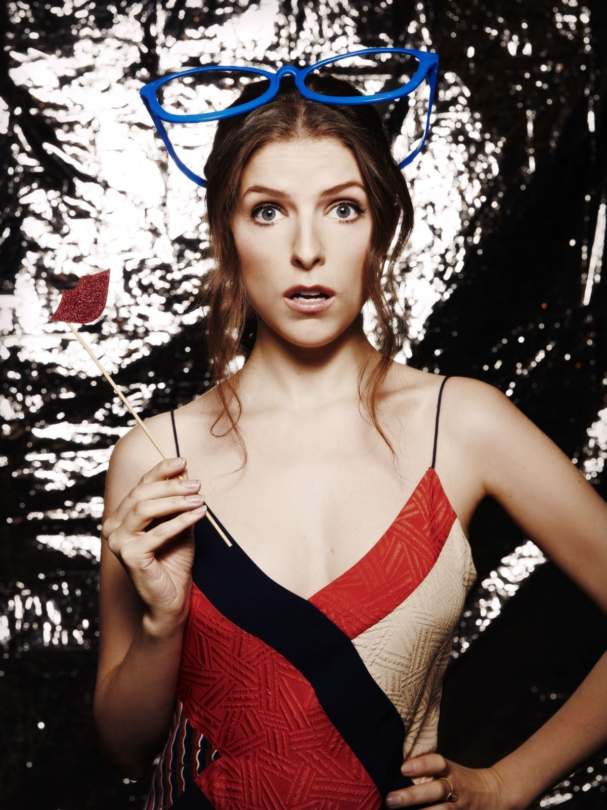 ANNA KENDRICK in Ocean Drive Magazine, August/September 2016 Issue